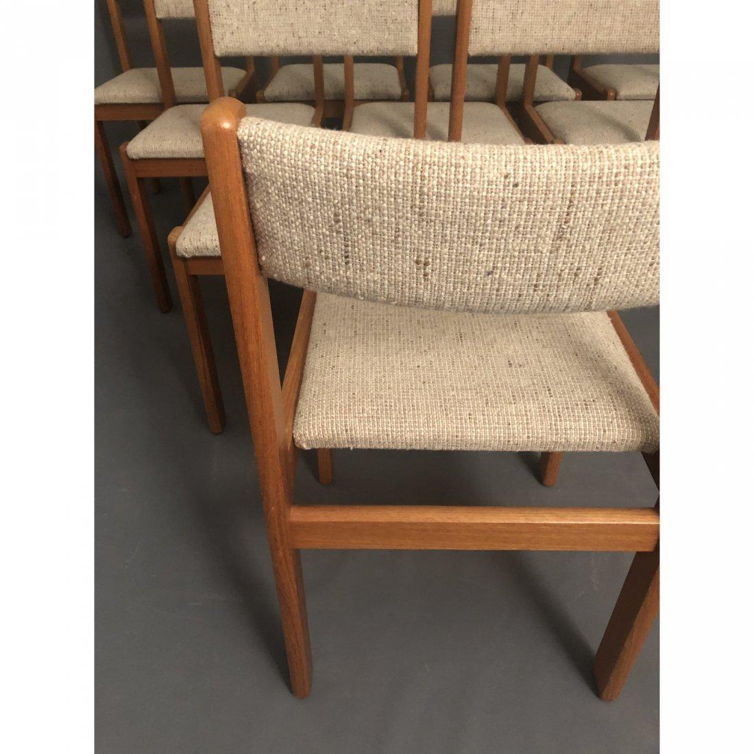 Vintage Mid-Century Teak Danish Dining Chairs- Set of 1 - 3