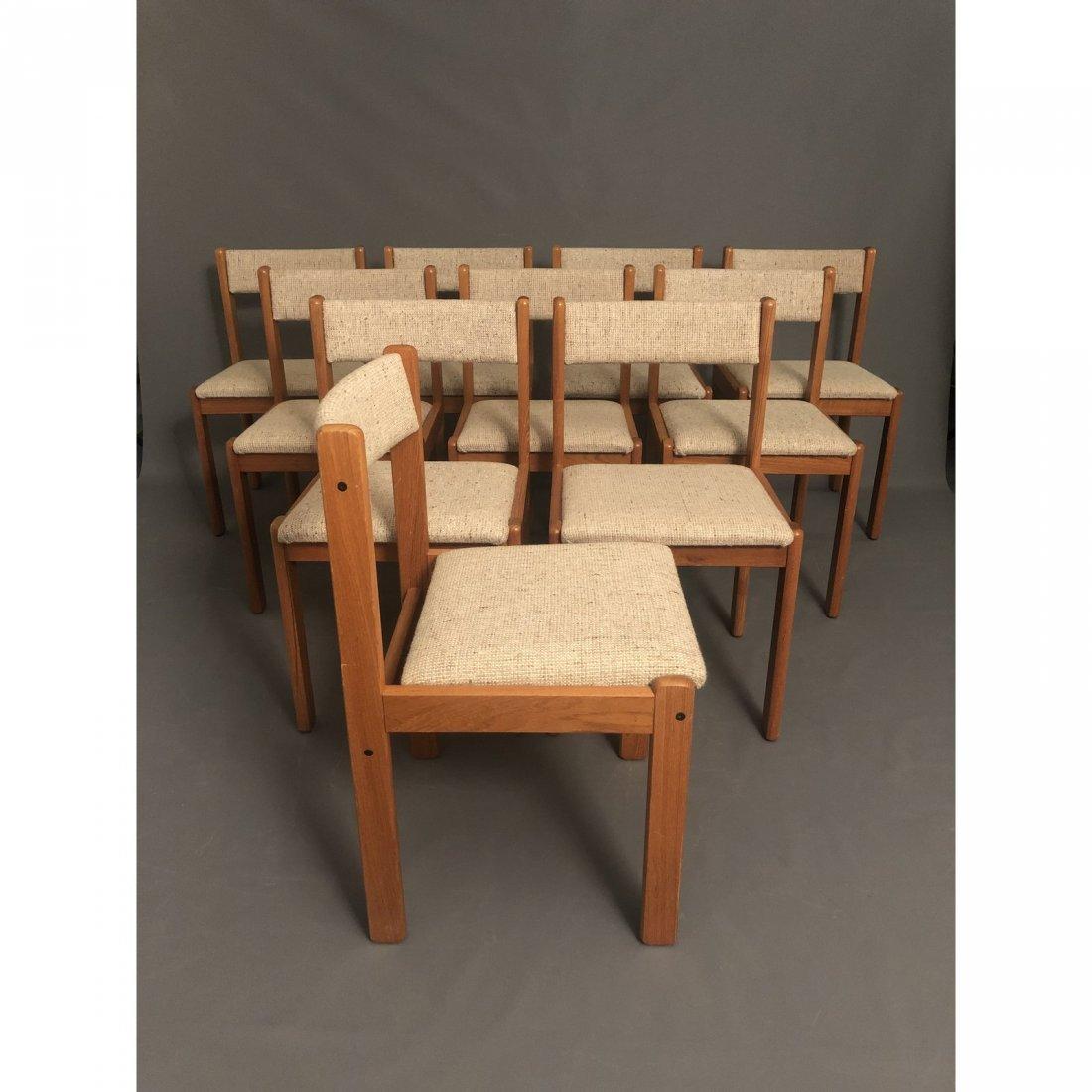 Vintage Mid-Century Teak Danish Dining Chairs- Set of 1 - 4