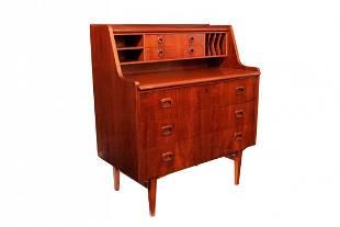 Curated Mid-Century danish teak desk