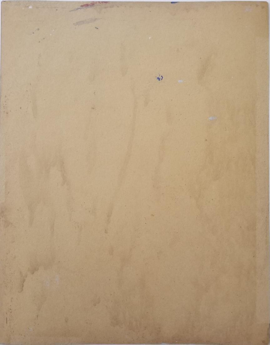 Gouache on paper signed E. Hopper - 2