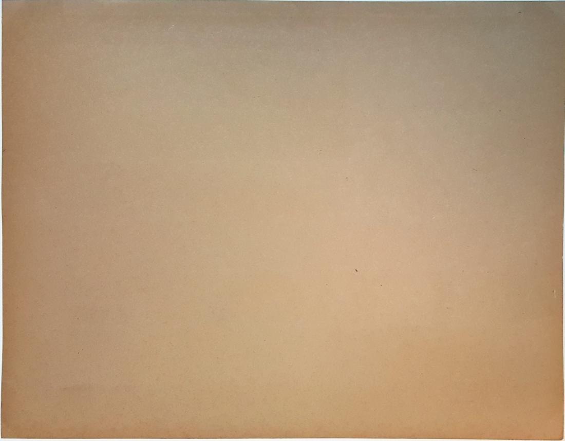 (Att.) Jasper JOHNS gouache on paper - 2