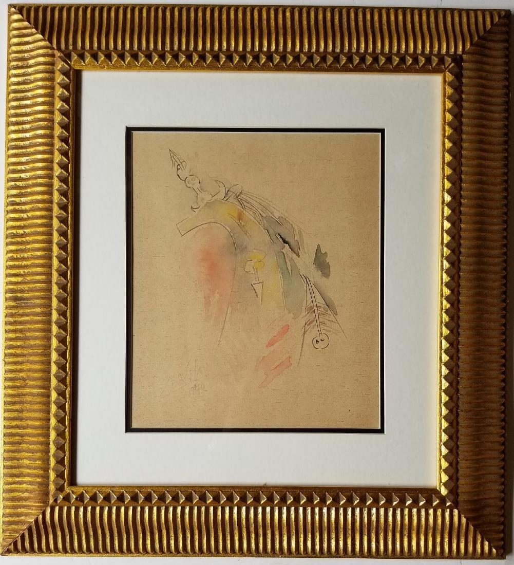 Watercolor on paper - Wifredo Lam