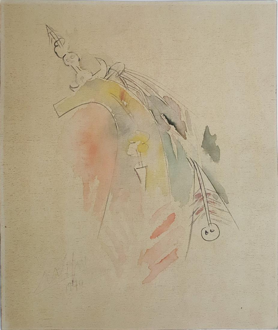 Watercolor on paper - Wifredo Lam - 2