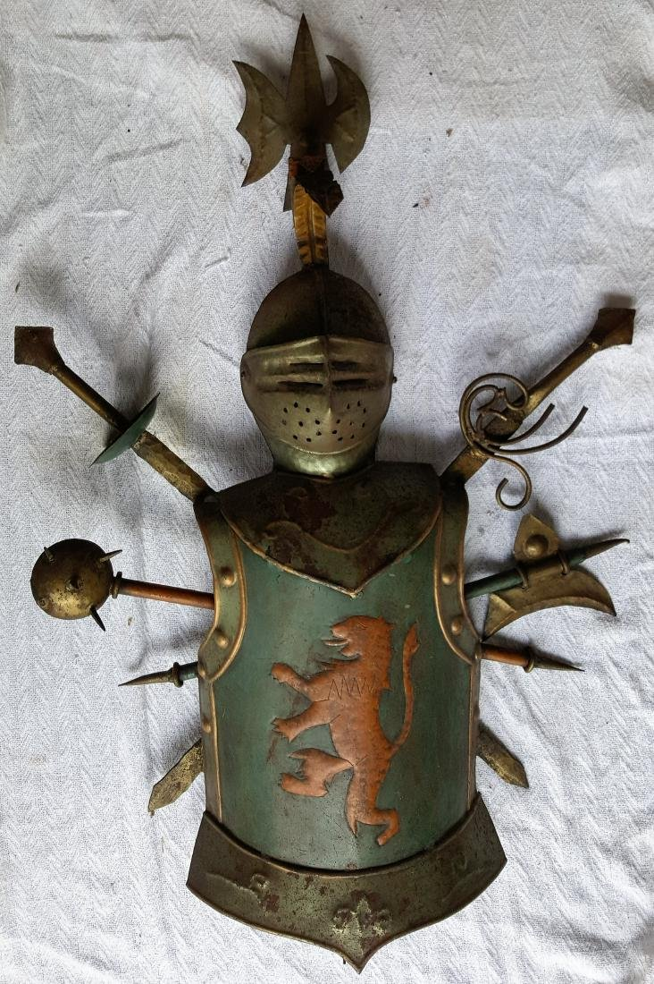 Antique Knight Armor