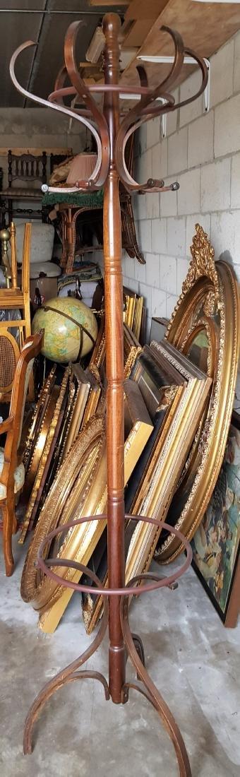 Vintage Coat wood Stand