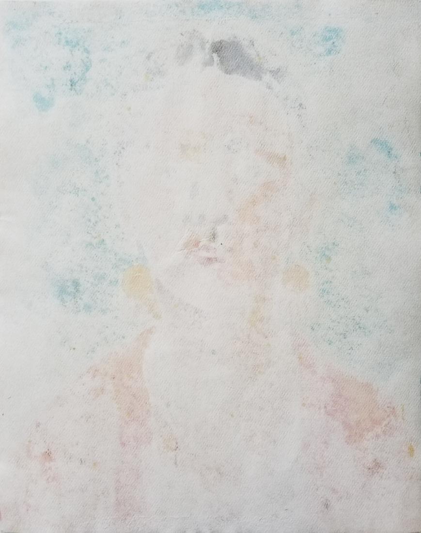 (Att.) Frida Khalo watercolor on paper. - 2
