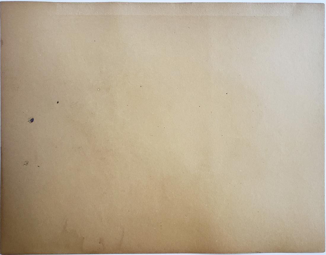 Ink on paper in the manner of  Gustav Klimt - 2