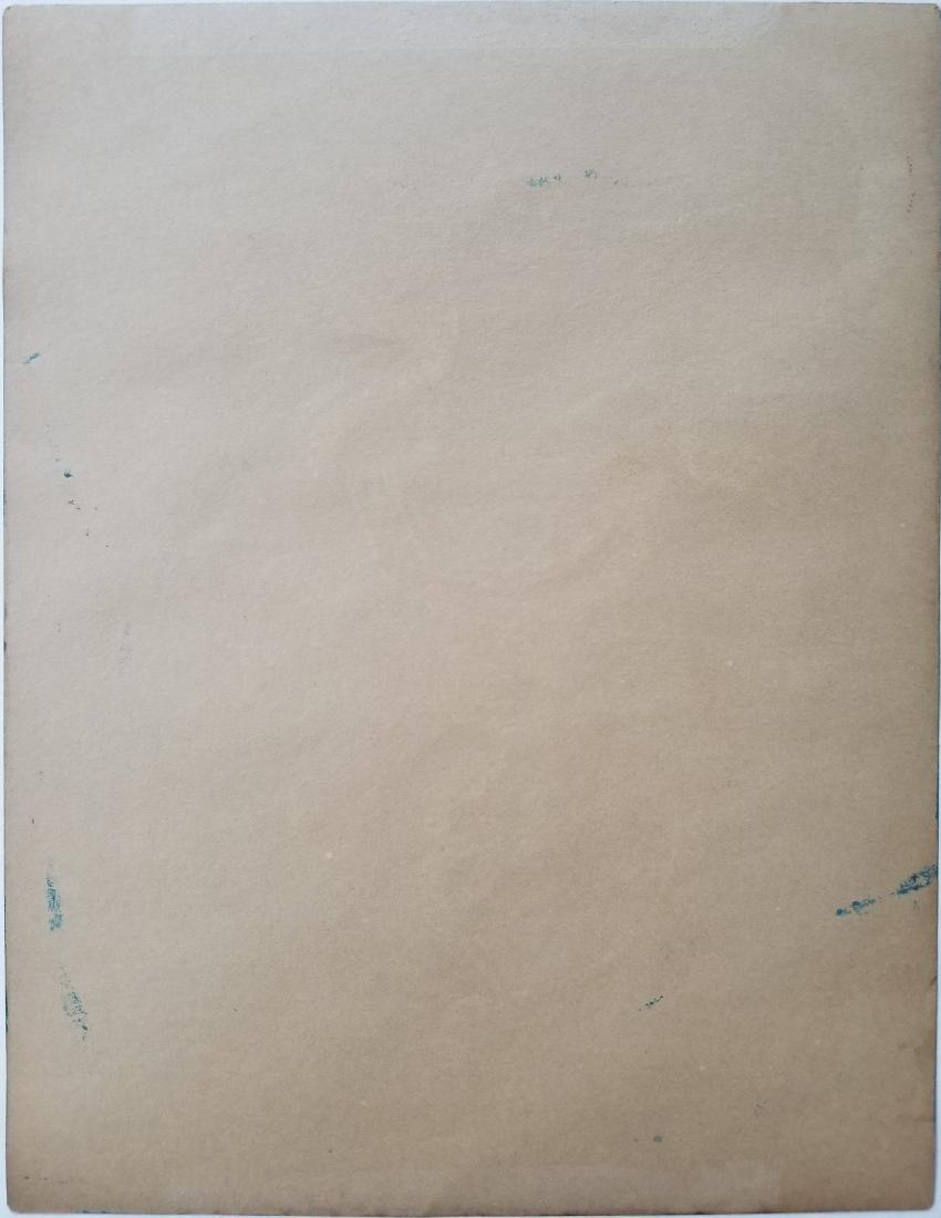 Mario Carreno Mixed media on paper. - 2