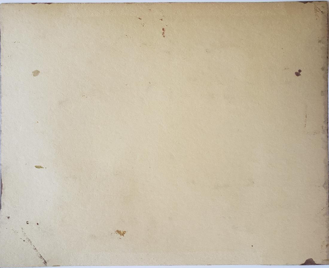 Mario CARREÃ'O gouache  on paper - 2
