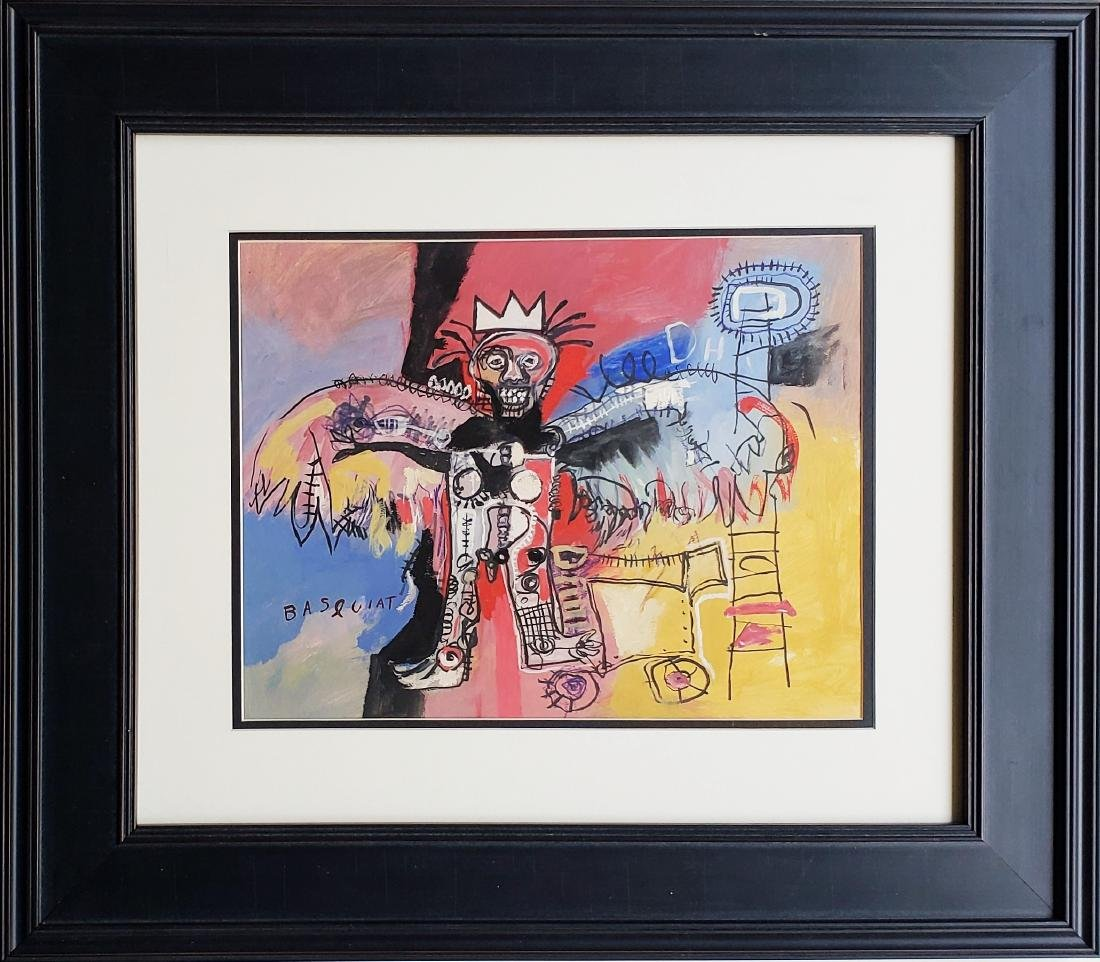 In the manner of Jean Mihel Basquiat. - 3