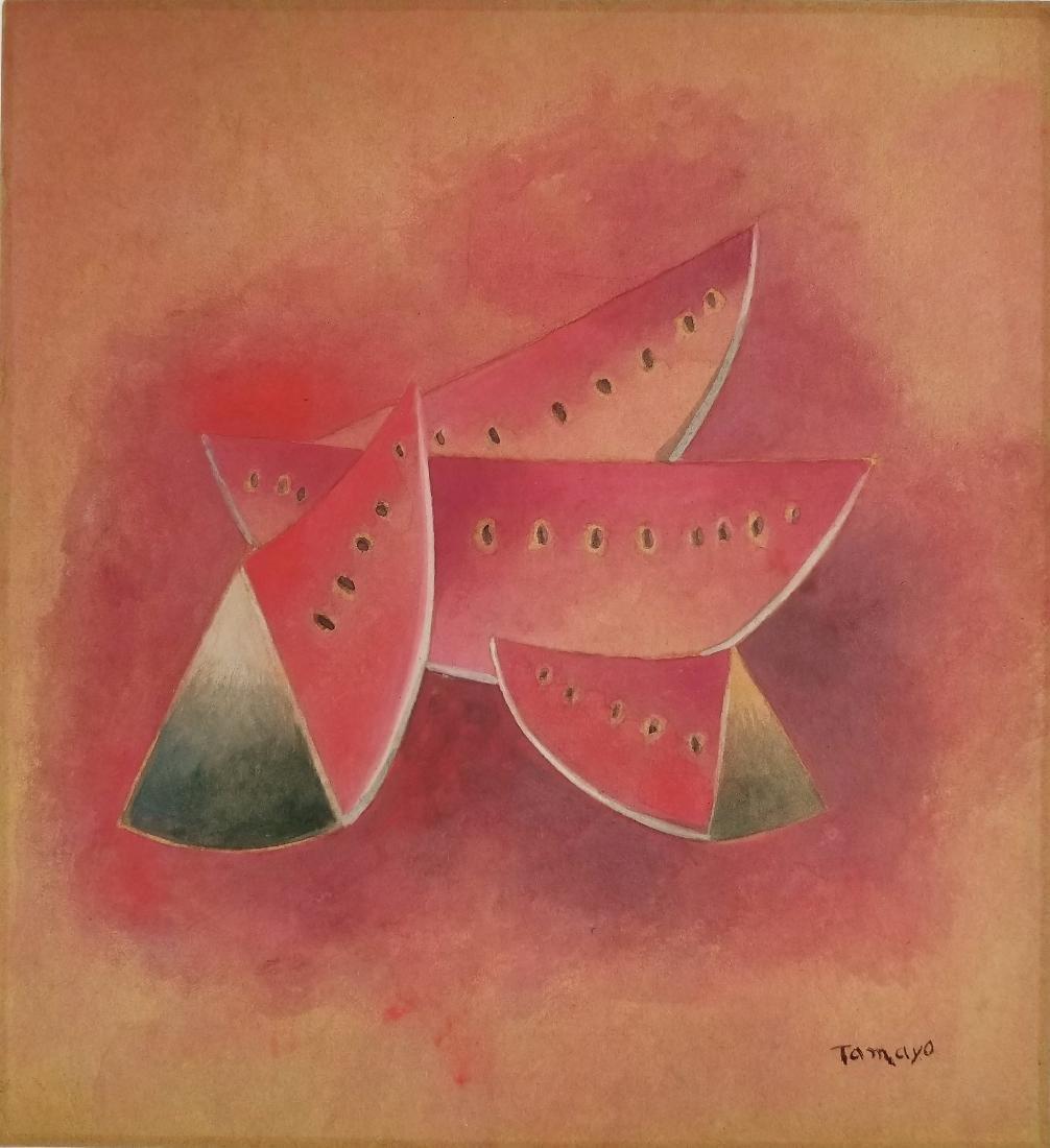 (Att.)Rufino Tamayo - Gouache on paper