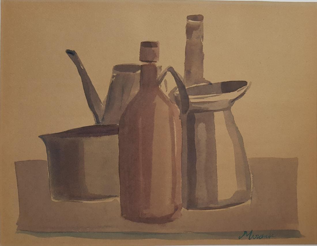 Giorgio MORANDI watercolor on paper