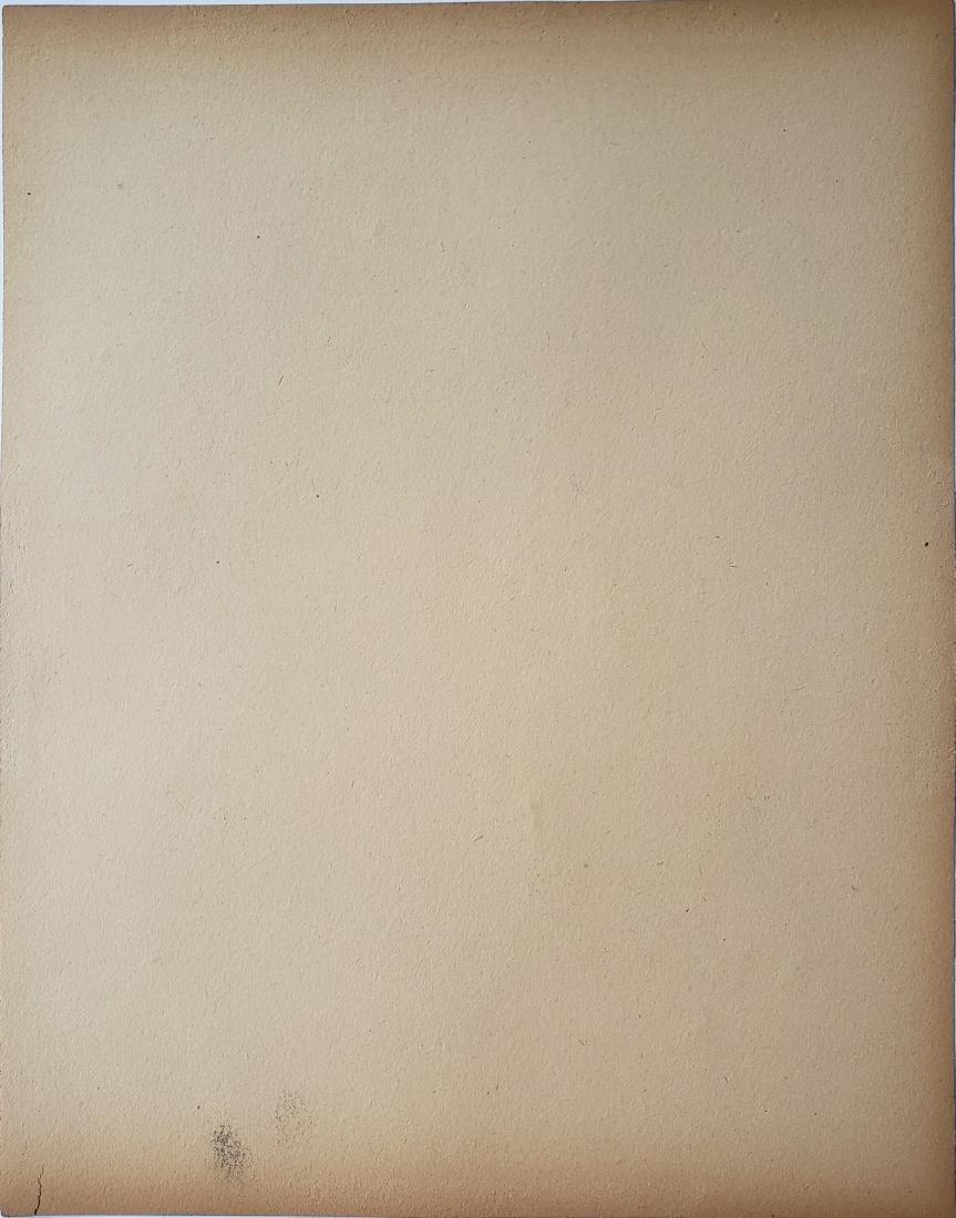 LAUTREC gouache on paper. - 2