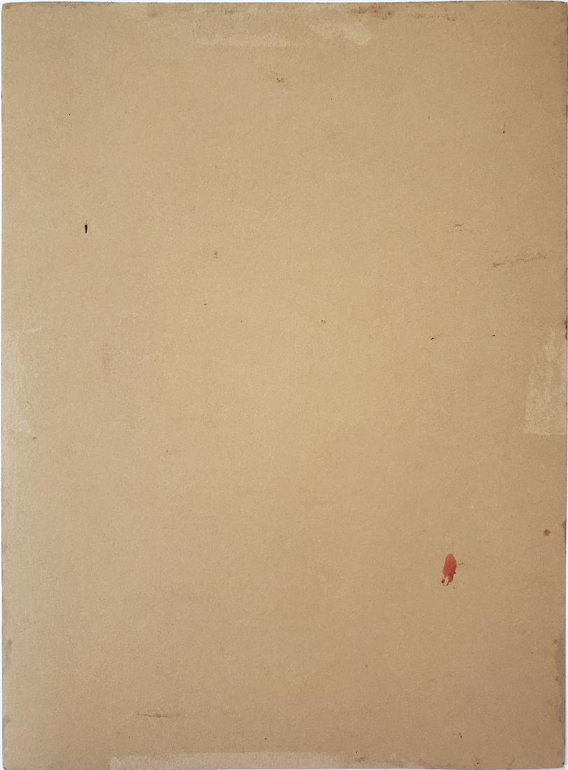 GOUACHE ON PAPER SIGNED ANDY WARHOL - 2