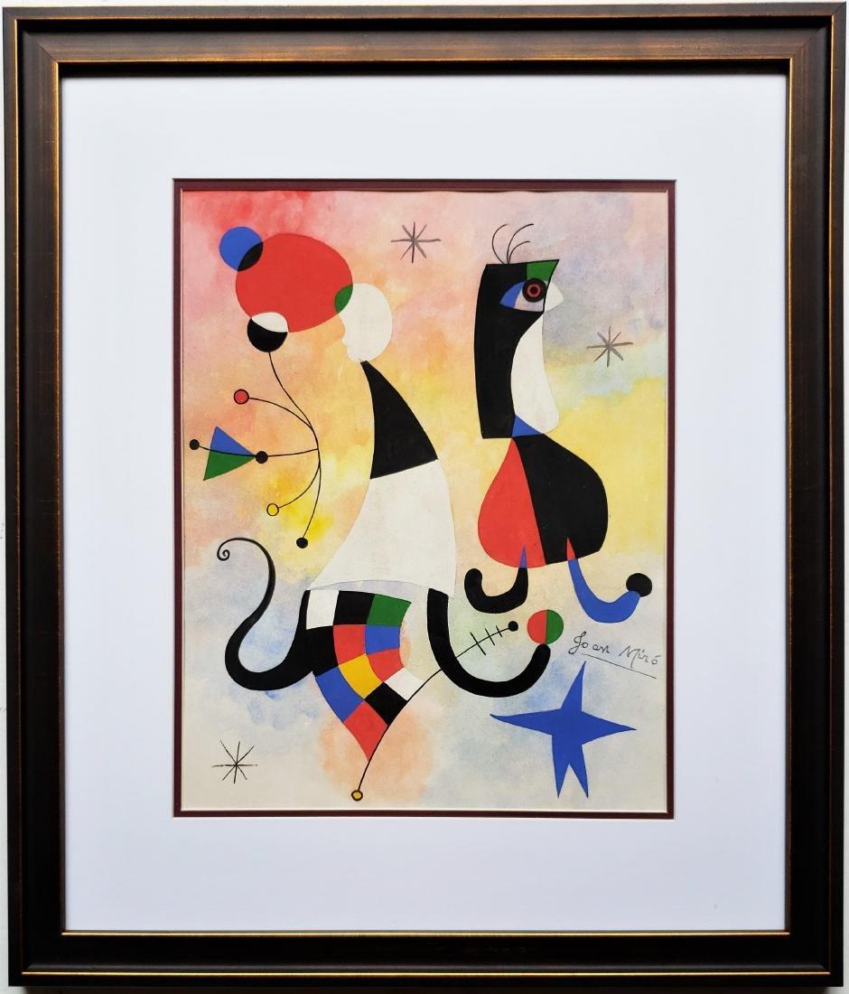 Miro Gouache on paper - 3