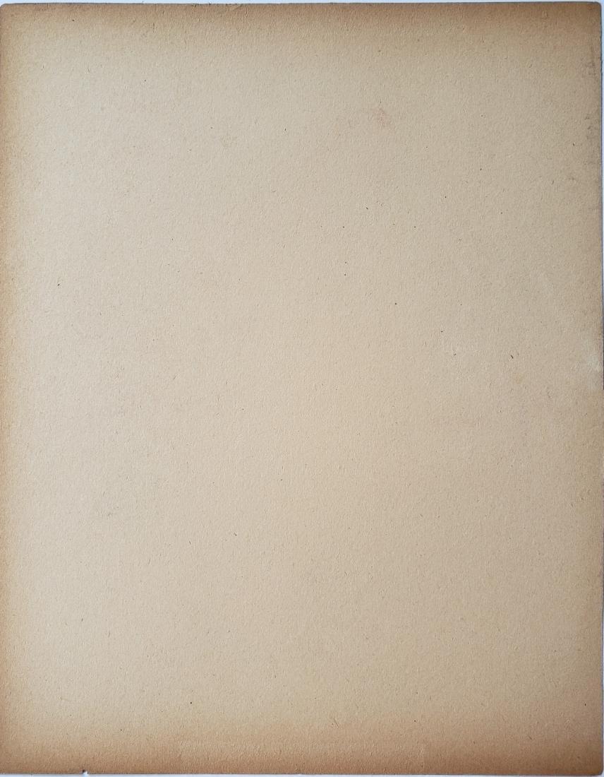 Degas Mixed media on paper - 2