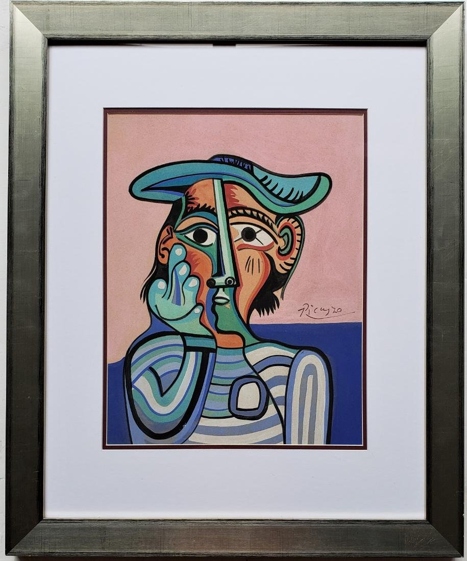 Picasso Gouache on paper - 3