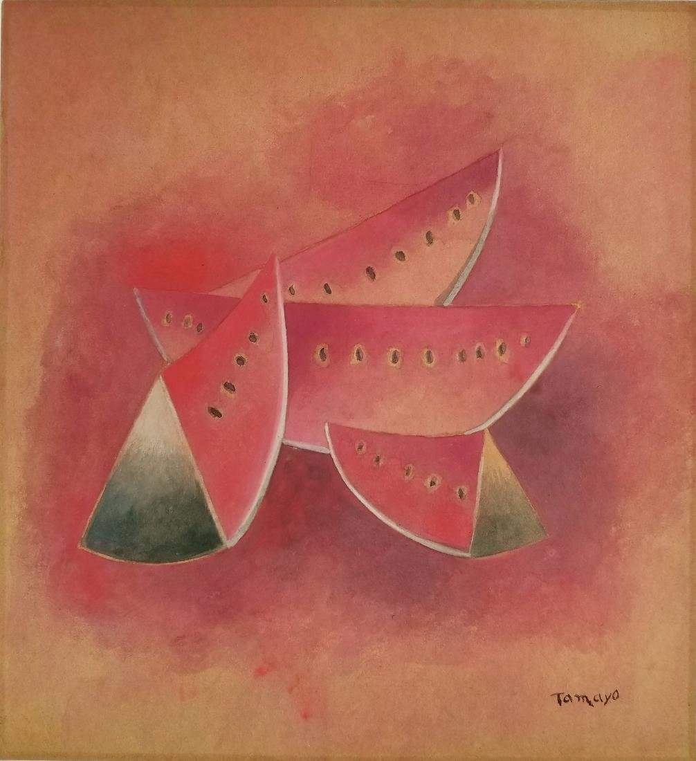 Rufino Tamayo - Gouache on paper