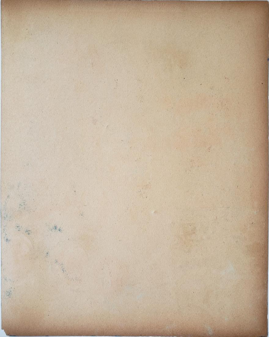 Watercolor on paper Henri Matisse. - 2