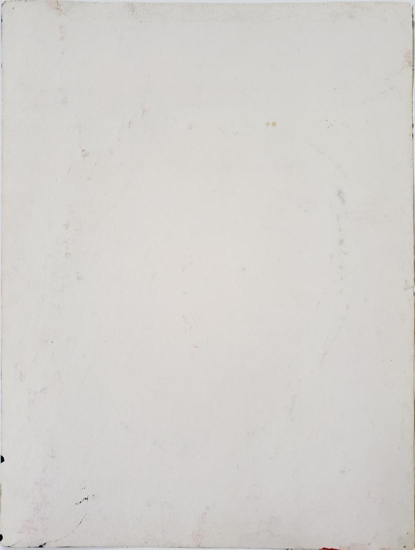 Gouache on paper  signed Roy Lichtenstein. - 2