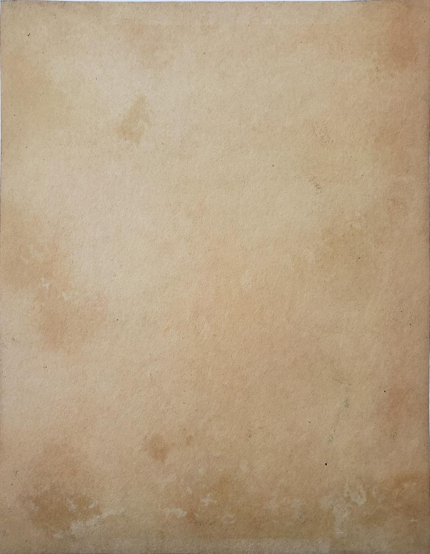 Vincent Watercolor on paper. - 2