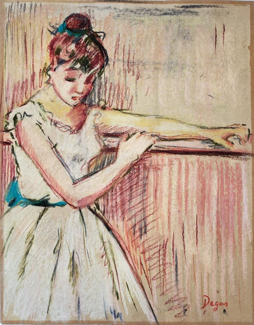 Degas Mixed media on paper