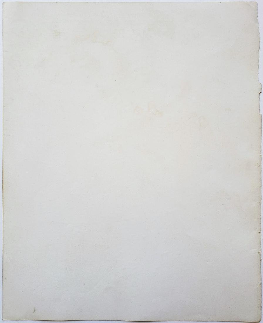 Ink on paper signed Alberto GIACOMETTI - 2