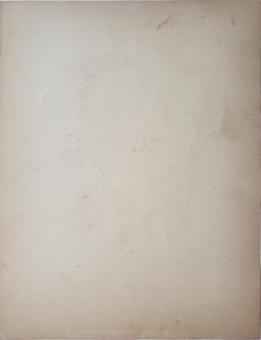 Egon Schiele mixed media on paper. - 2