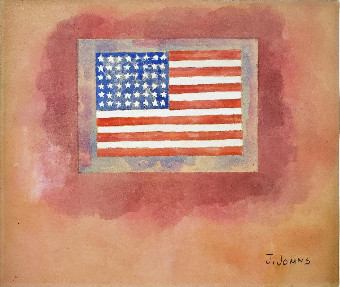 J. Jomns Watercolor on paper