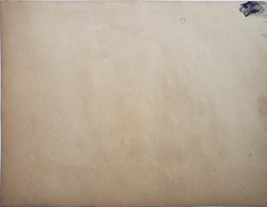 Francisco Toledo mixed media on paper. - 2