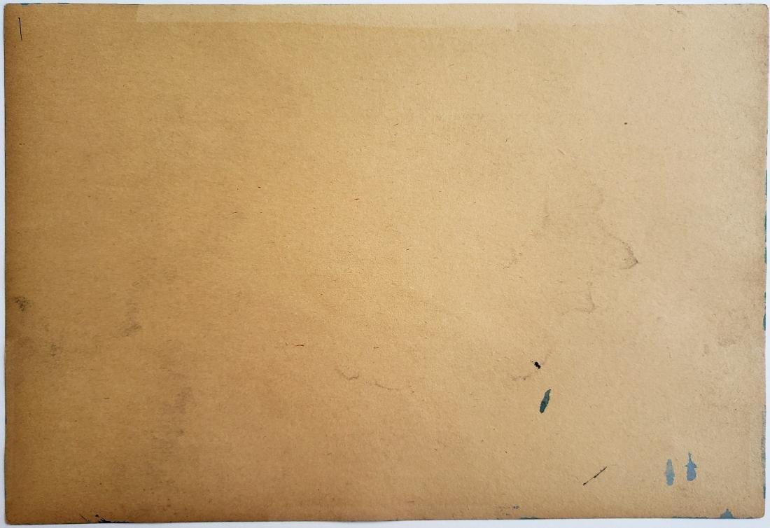 Hans HARTUNG mixed media on paper - 2