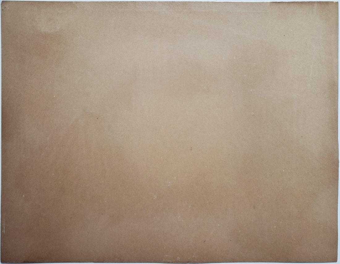 Degas pastel on paper - 2