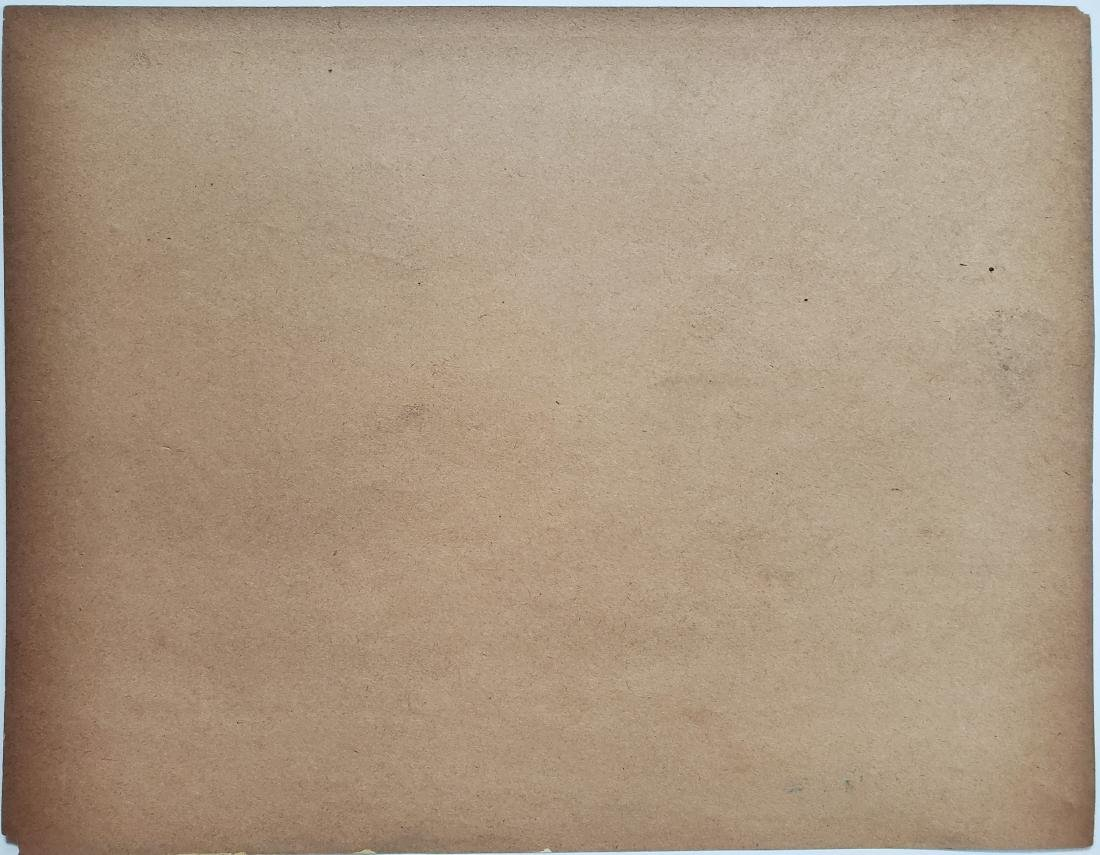 Vincent Mixed media on paper. - 2