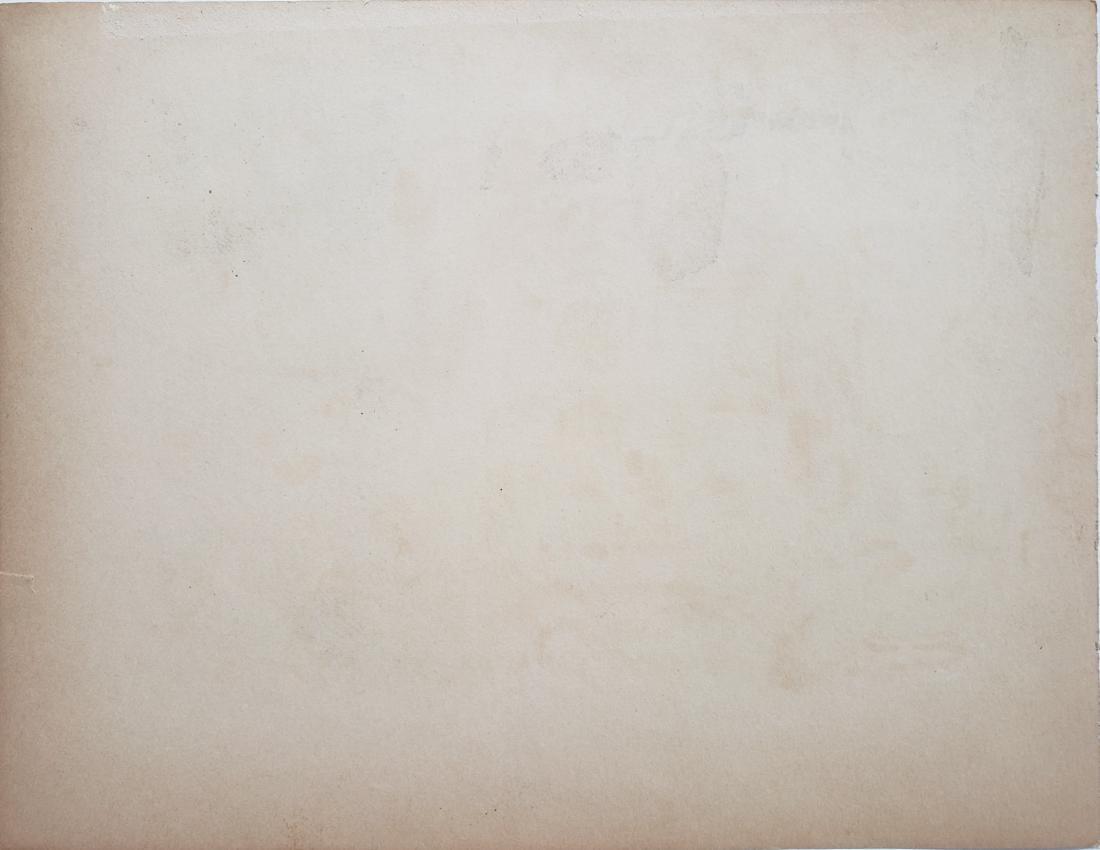 G. de Chirico mixed media on paper - 2