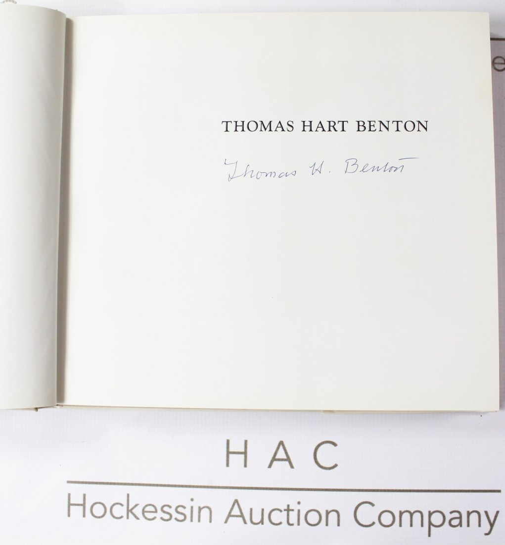 Book Signed by Thomas Hart Benton