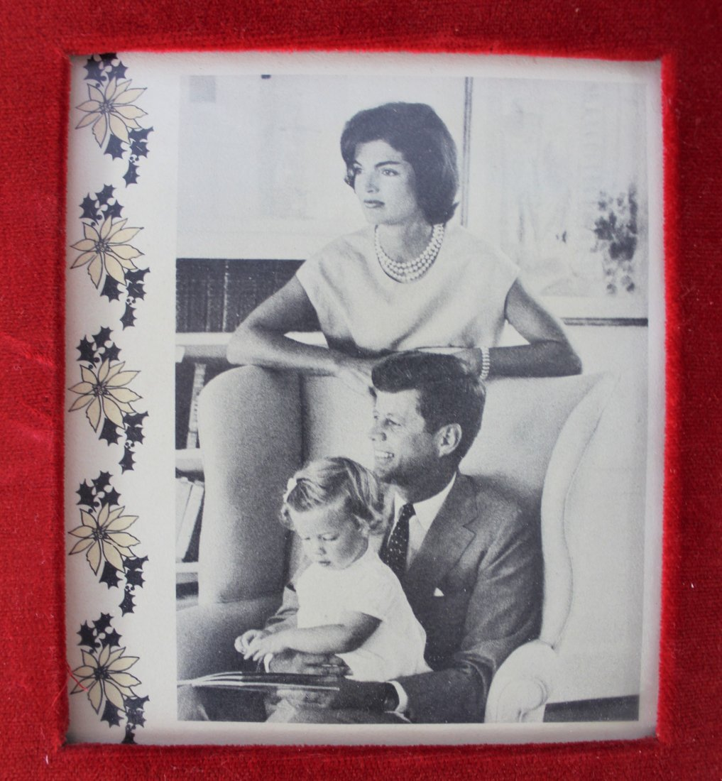 John F. Kennedy Signed Christmas Card - 3