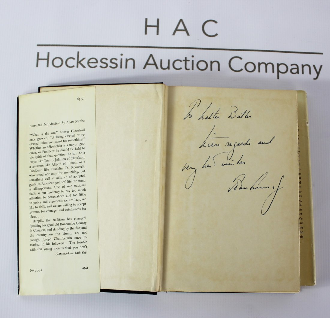 Book Signed by John F. Kennedy, The Strategy of Peace