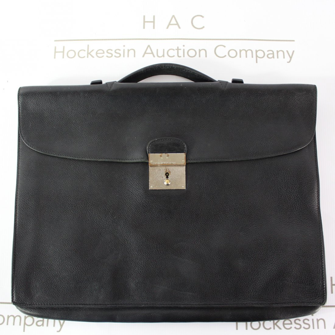 Hermes Leather Briefcase
