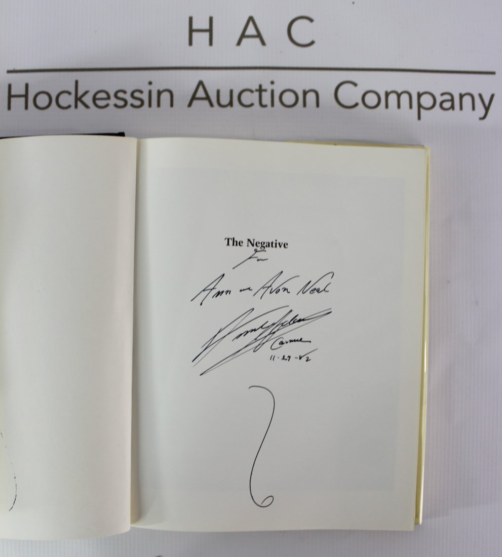 Book signed by Ansel Adama