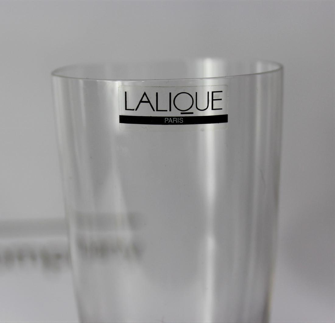 Lalique Champagne Flutes - 2
