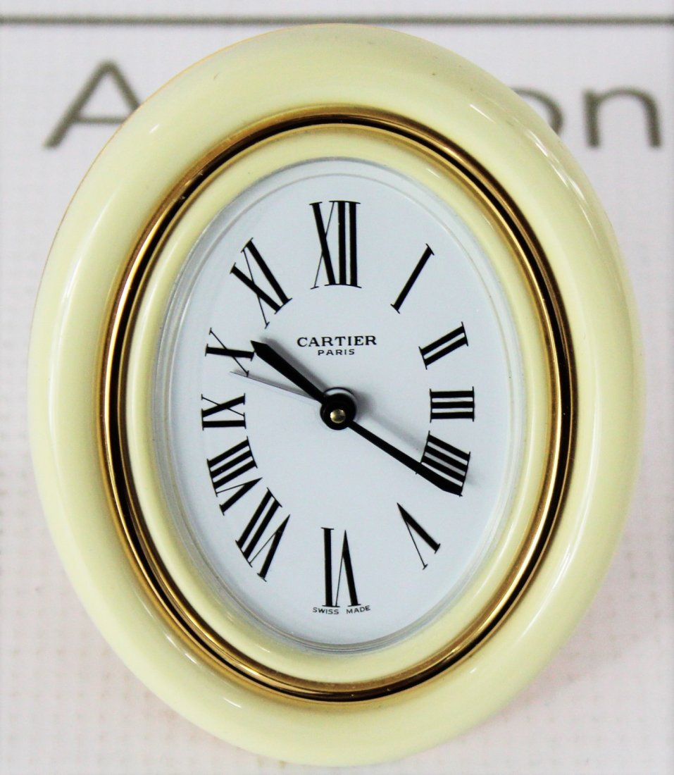 Cartier Alarm Clock - 3