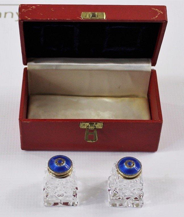 Cartier Salt and Pepper Shakers