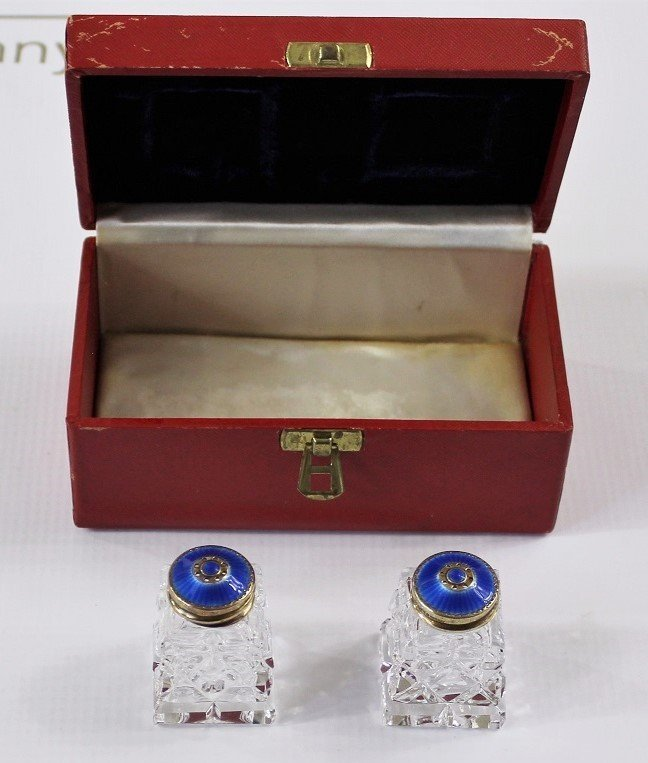 Cartier Salt and Pepper Shakers