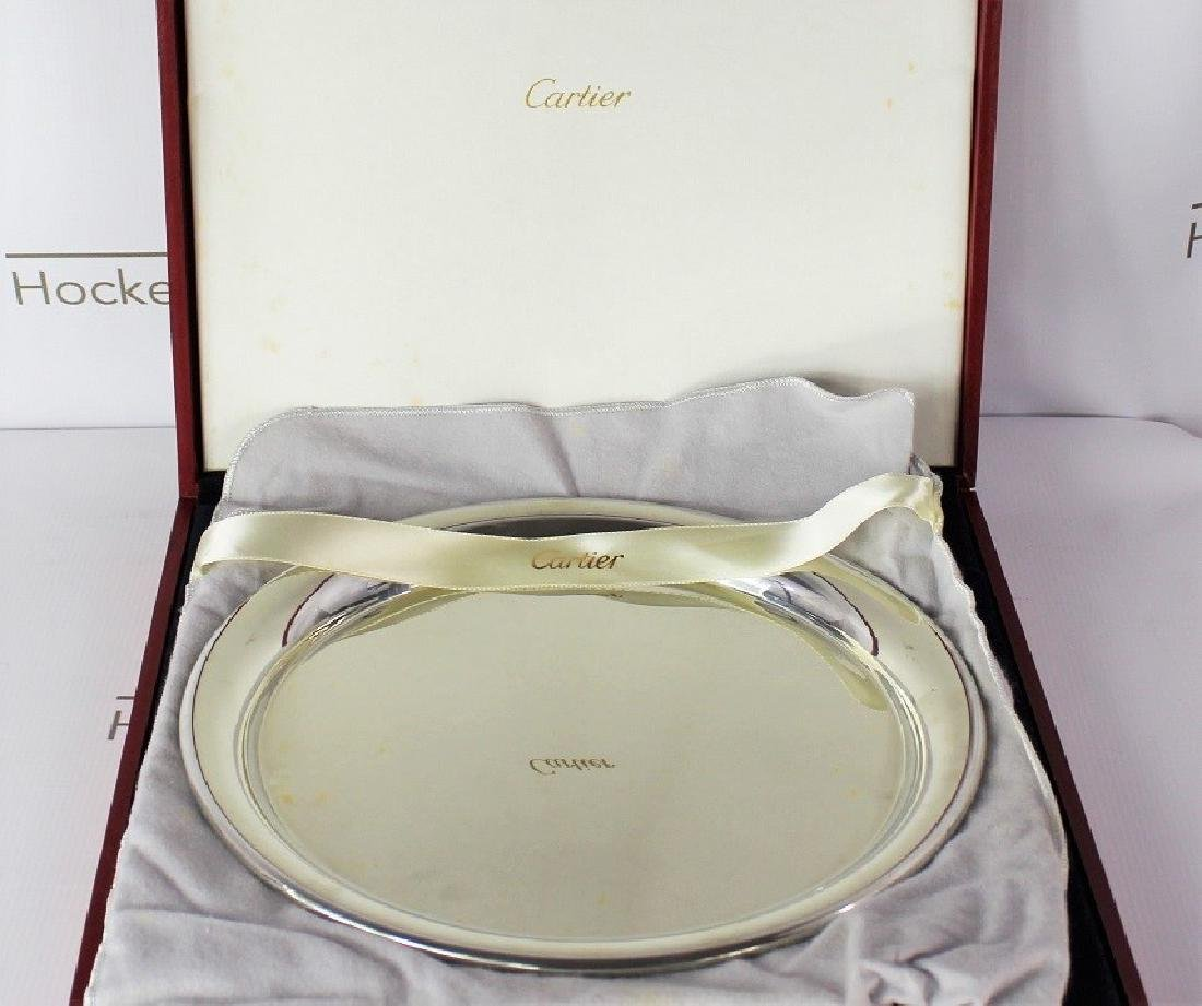 Cartier Sterling Silver Plate - 2