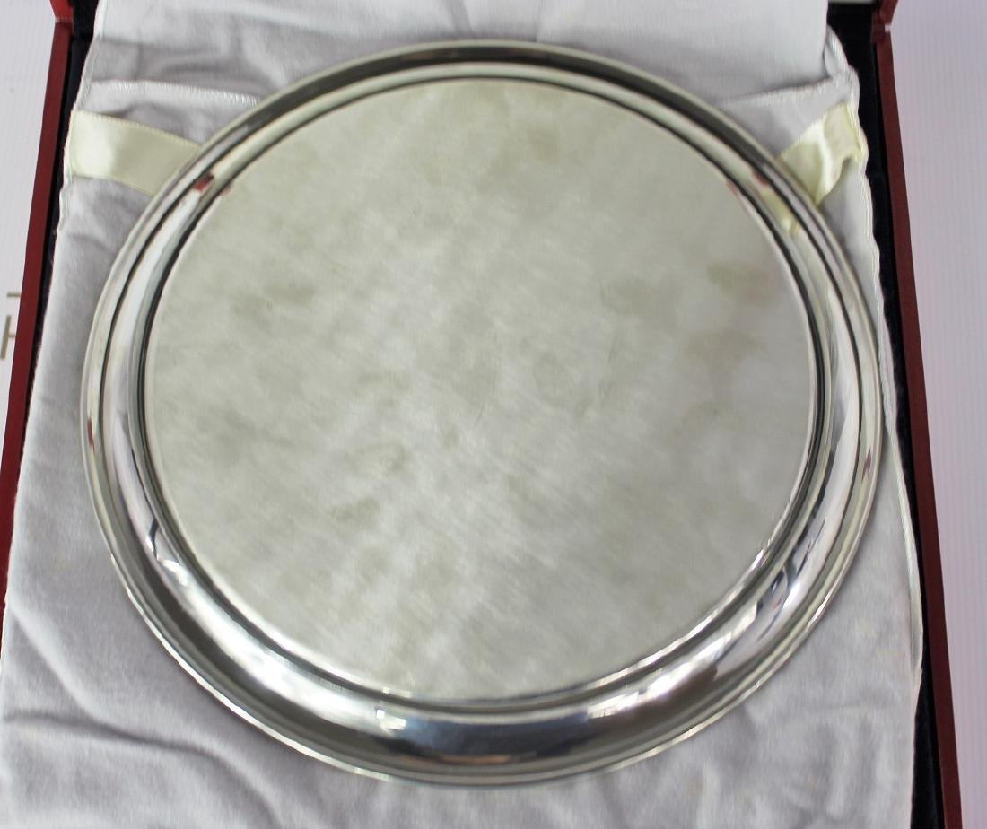 Cartier Sterling Silver Plate - 3