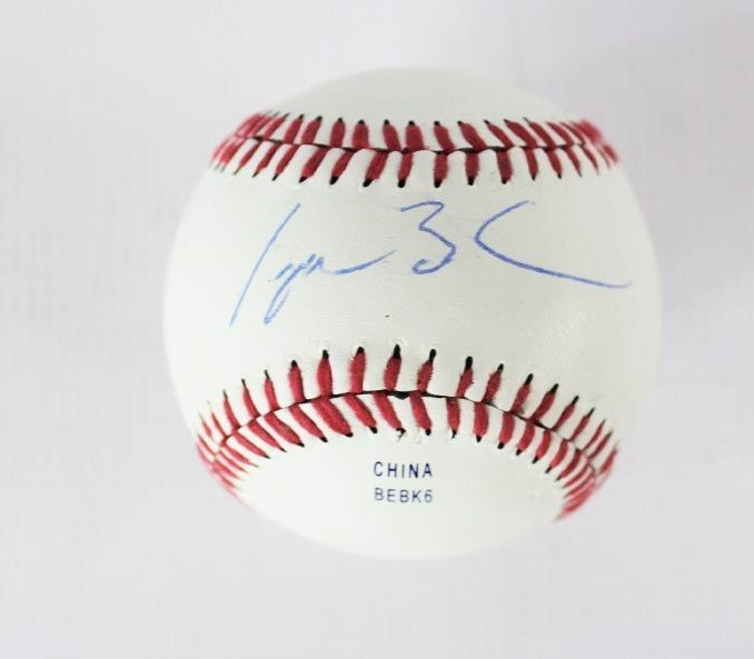 Baseball Signed by George W Bush