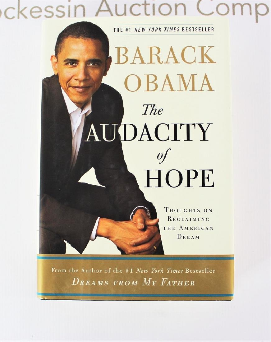 Book Signed by President Barack Obama, The Audacity of - 3