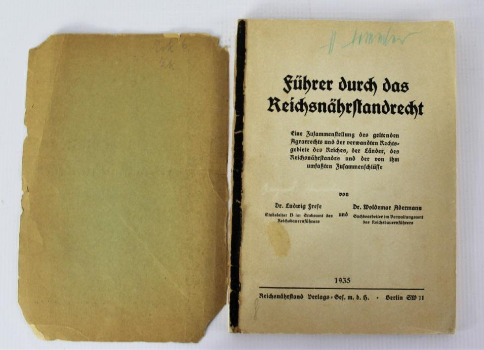 Book Signed by Heinrich Himmler