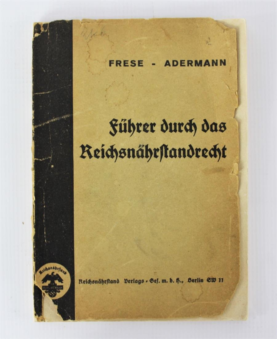 Book Signed by Heinrich Himmler - 3