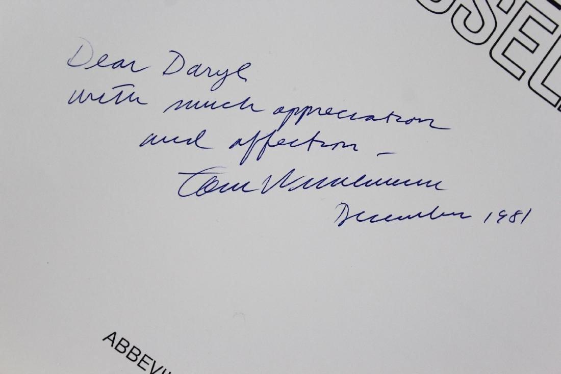 Book Signed by Tom Wesselmann, Tom Wesselmann